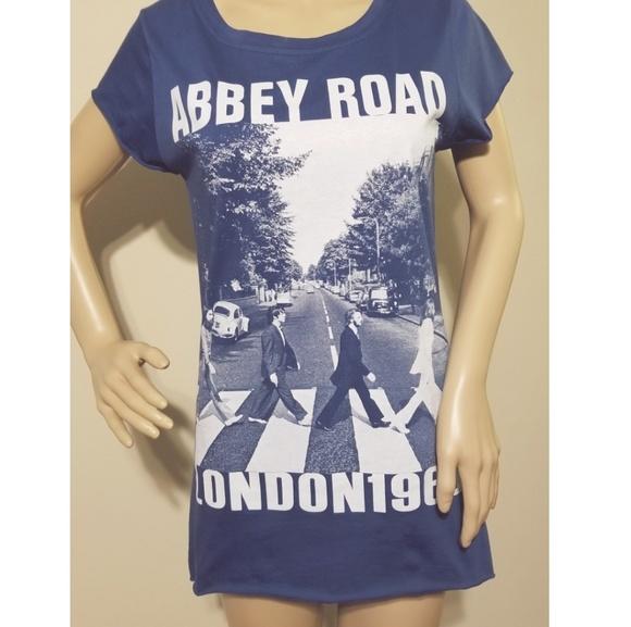 The Free BANANA Tops - 🆕️T.F.B-ABBEY ROAD LONDON 1969 TEE Sz M/L